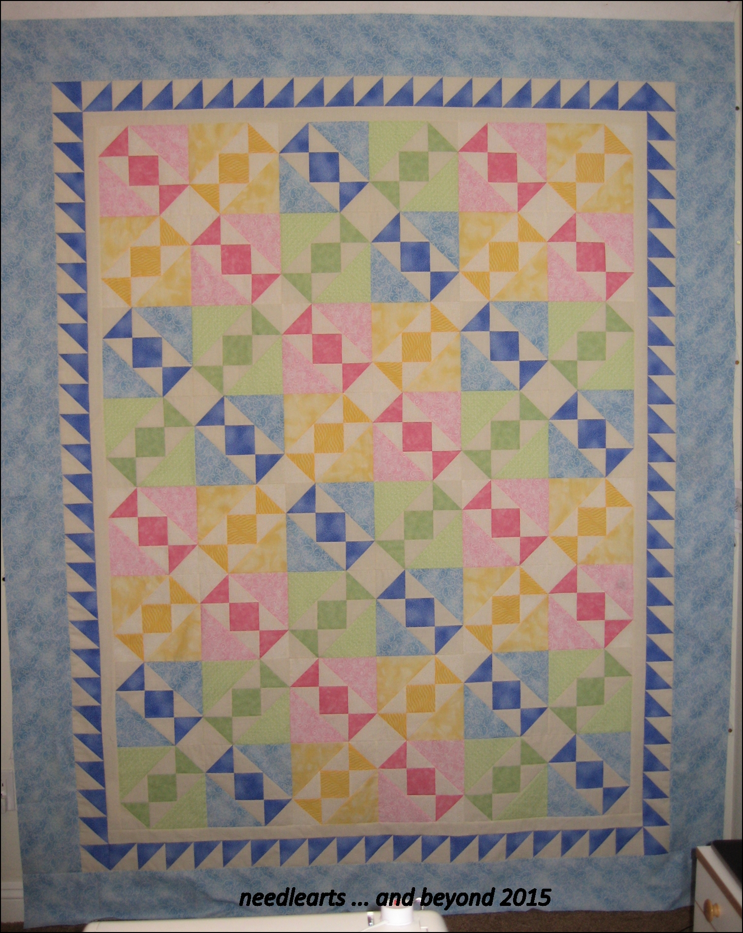 Quilting Designs For Water : Salt Water Taffy Quilt Top How to Quilt?? needlearts ...